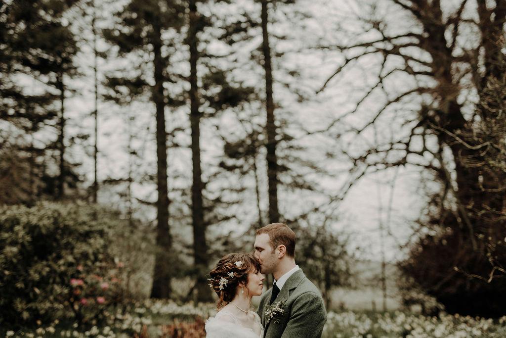 Modern wedding photographer Scotland