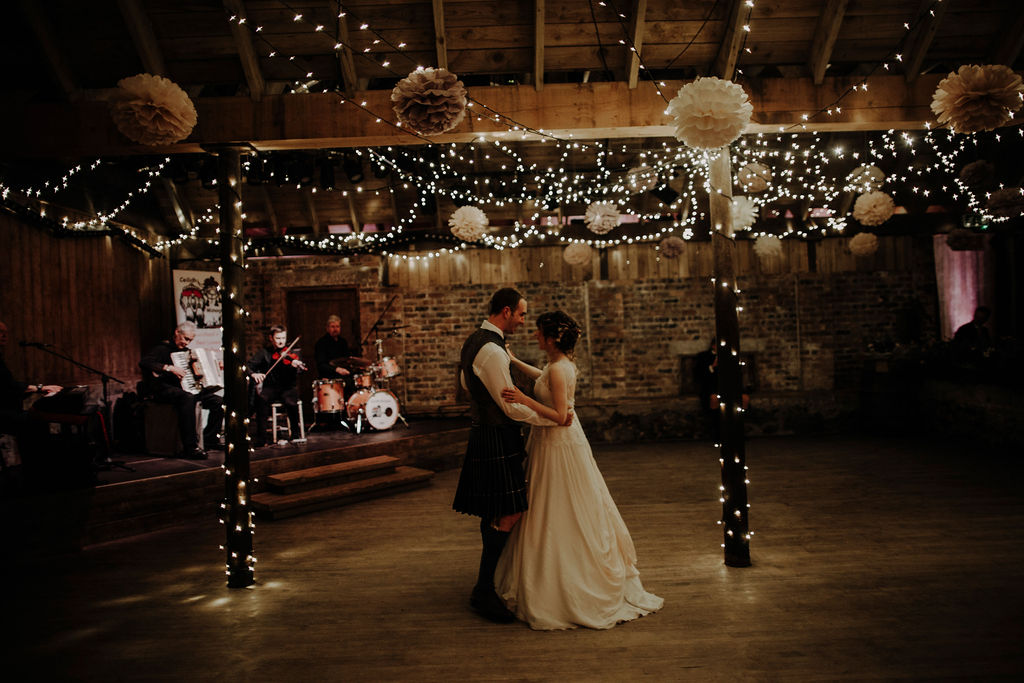 Byre at Inchyra first dance