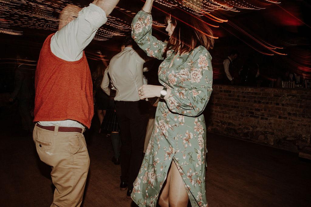 Byre at Inchyra wedding band