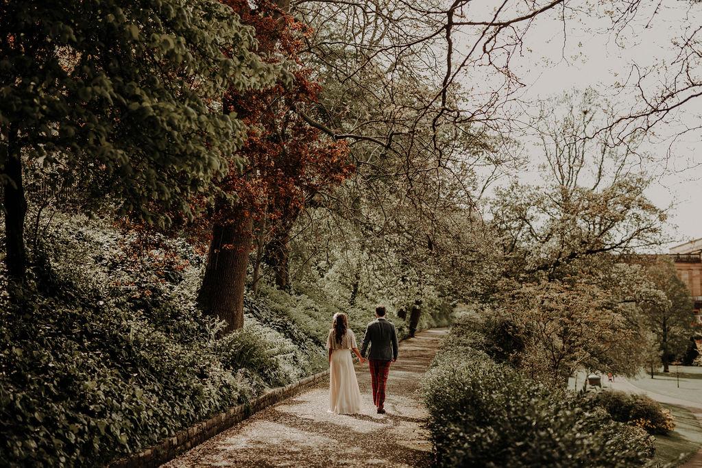 Scottish National Gallery wedding photographer