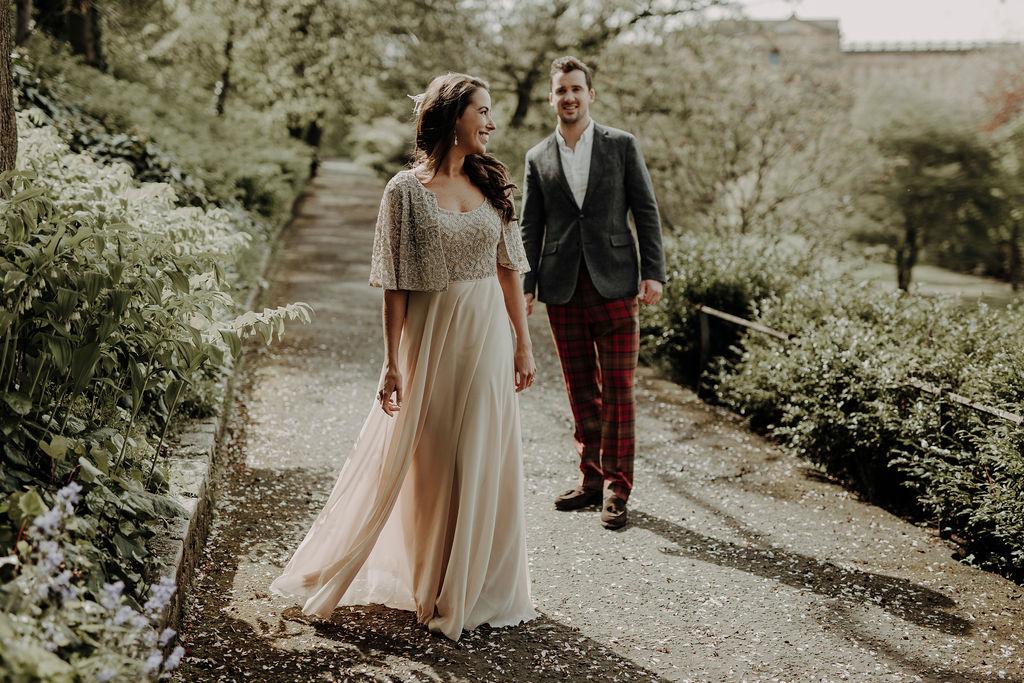 Scottish National Gallery wedding Edinburgh