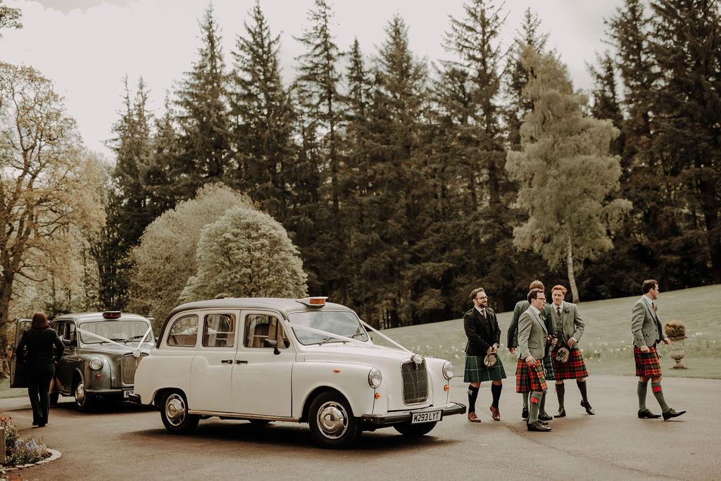 Wedding car rent Edinburgh