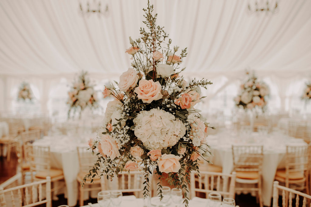 glencorse house wedding flowers