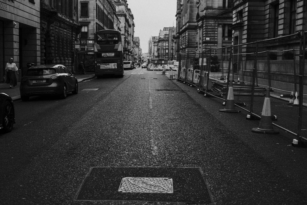 Glasgow City Centre street view