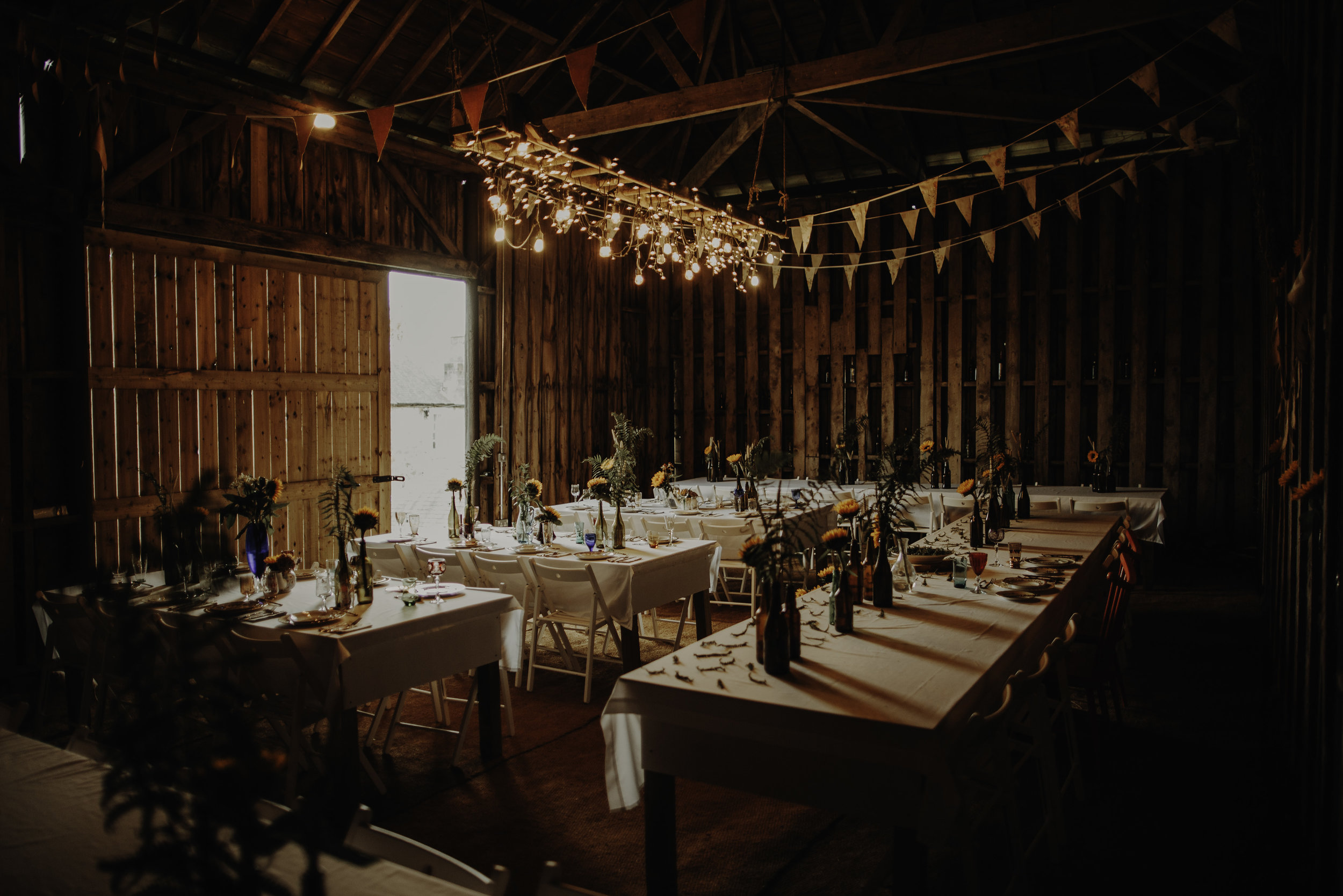 boho wedding Scotland barn rustic venue near Glasgow