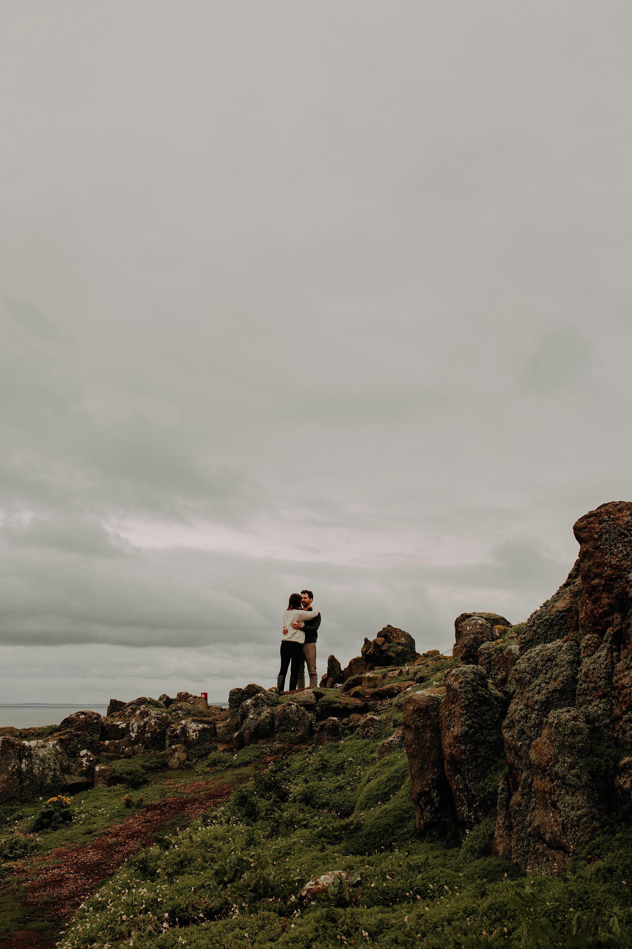 May Princess photo blog couple puffins Isle of May