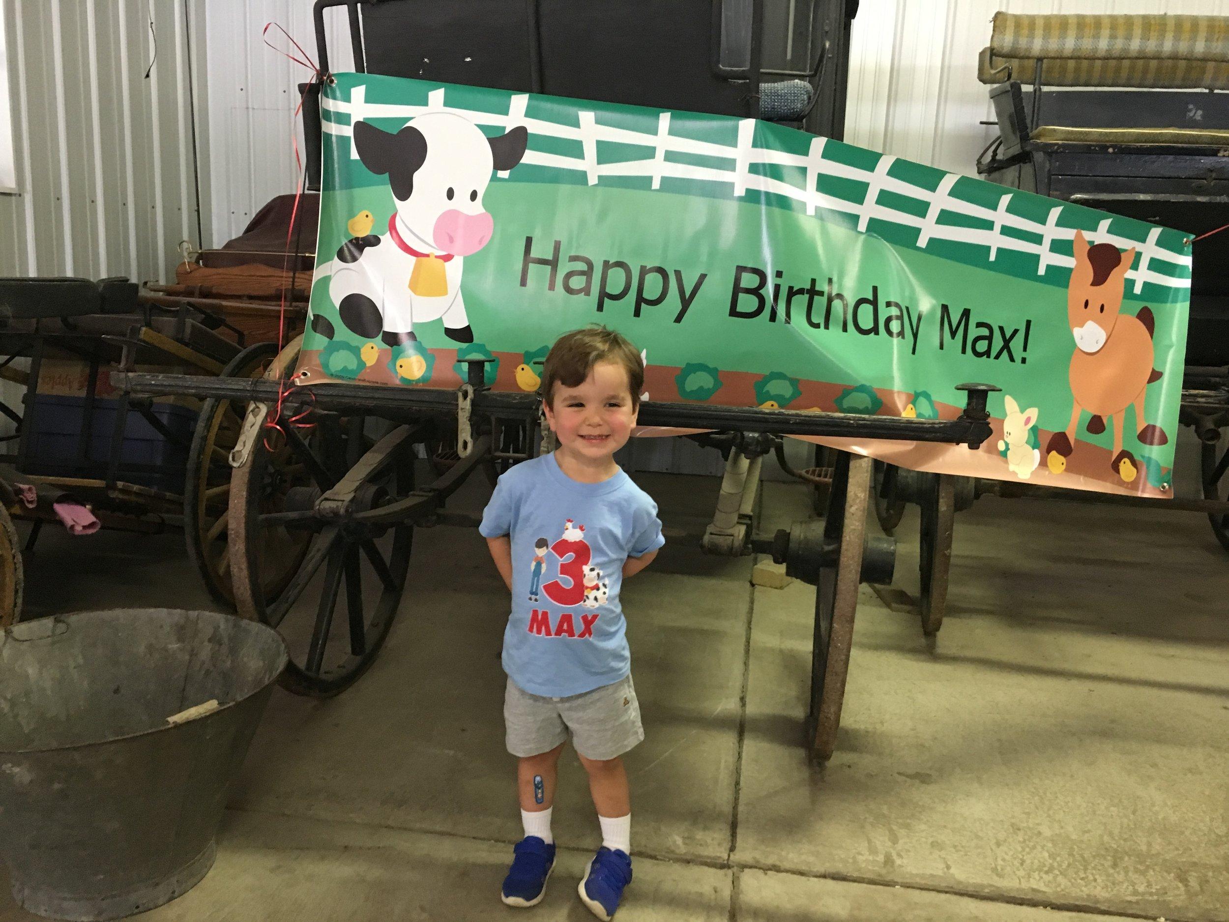 Happy Birthday Max!!