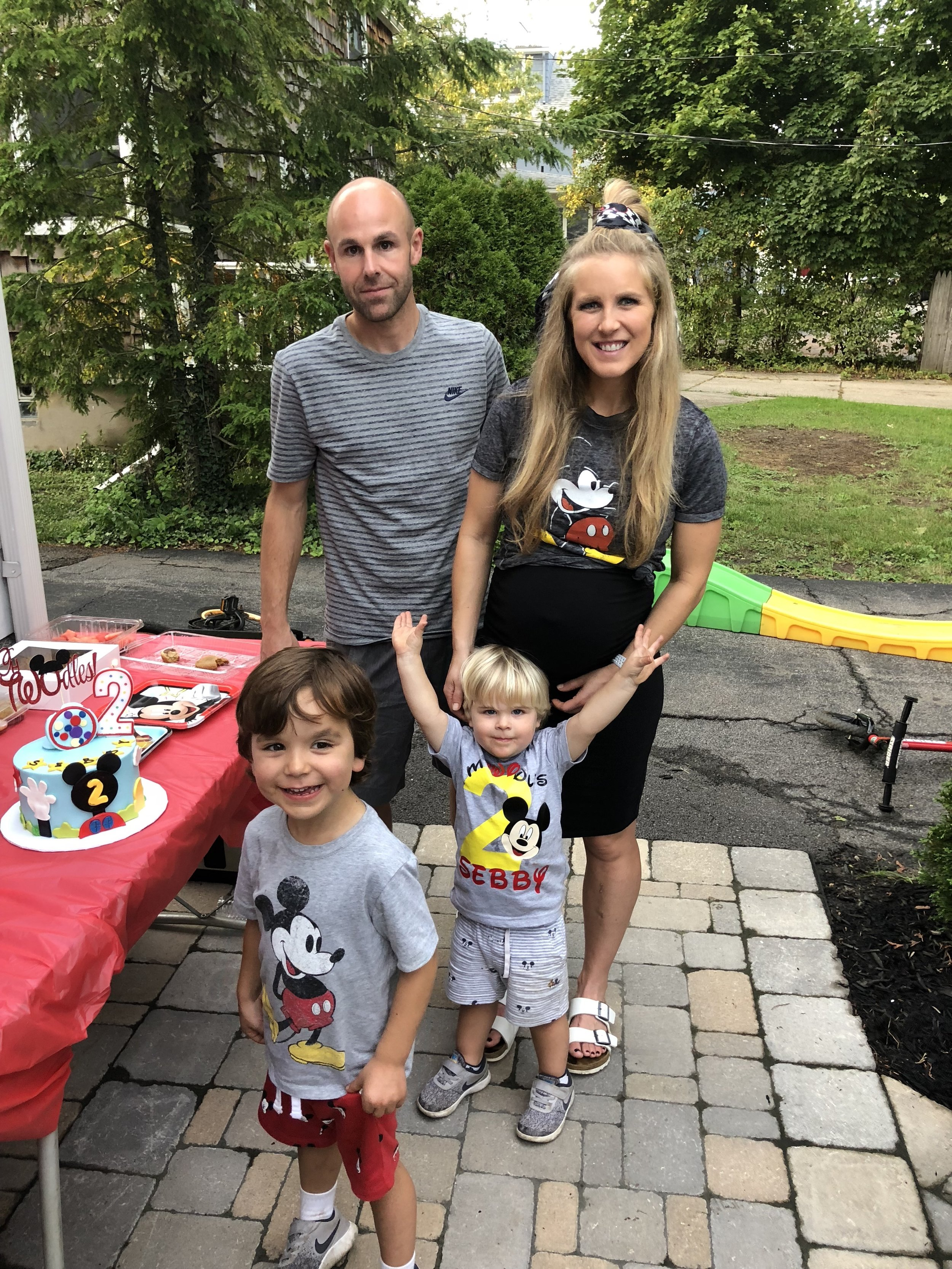 We had a great time at Seb's 2nd Birthday party last night!