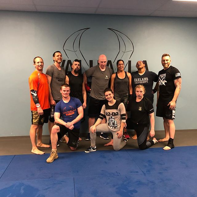 This is what it looks like when you've earned your place. This is the exhaustion, the sweat, the tears, the pain, and the joy of a Test well done. I could not be happier or prouder of these people. Welcome to Level Two. #kravmaga #kravmagaworldwide #levelonetest #vkm #valhallakrav #valhallakravmaga #leveltwo #earnyourplace