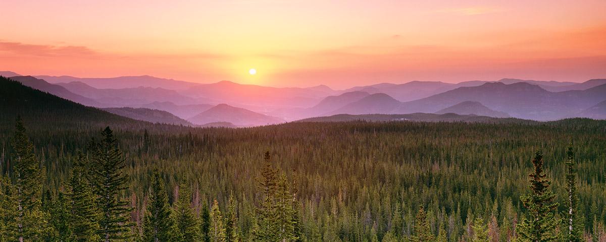 Flattop Mountain Sunrise