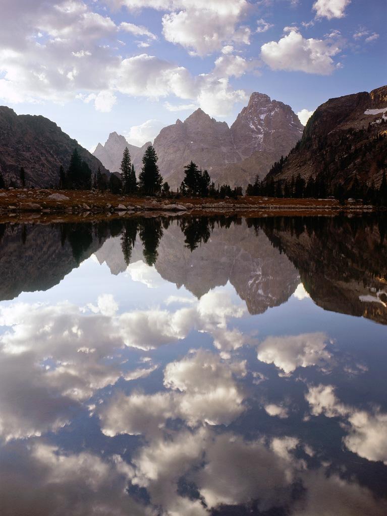 Lake Solitude Reflections