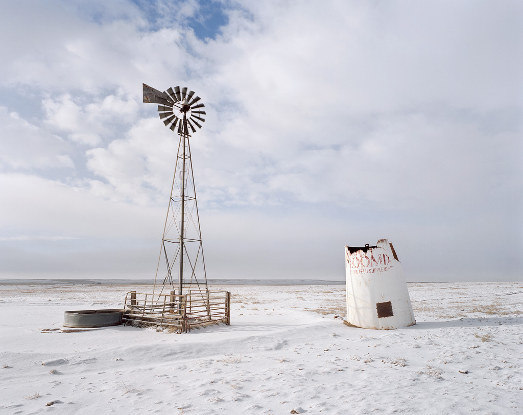 Silo and Windmill