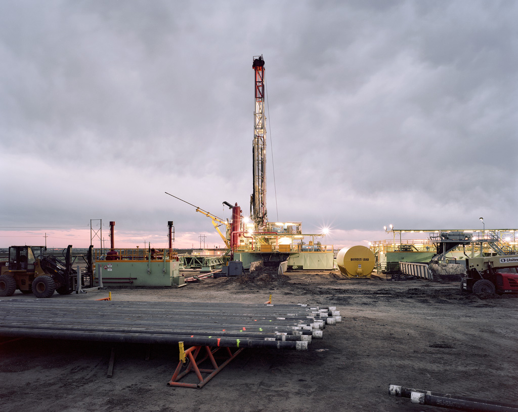 Drilling Pipe and Rig