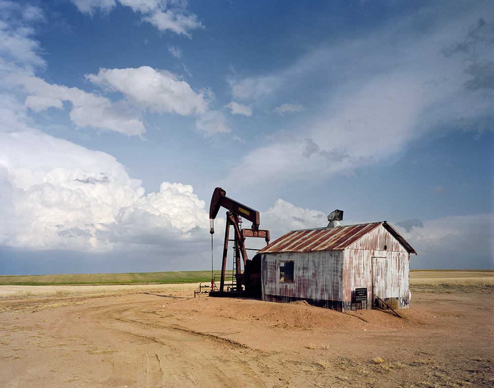 Pumpjack and Storm Cell