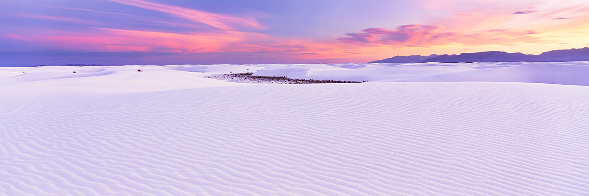 White Sands and Mountains