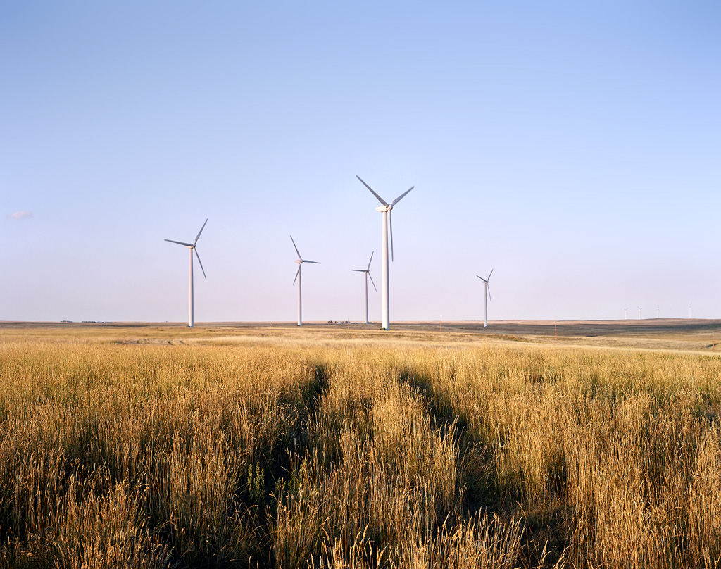 Two Track and Wind Turbines