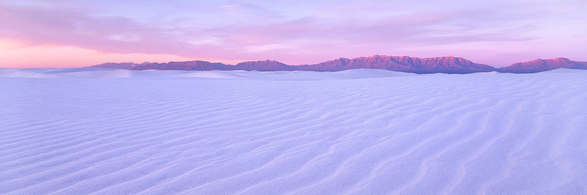 White Sands Sunrise