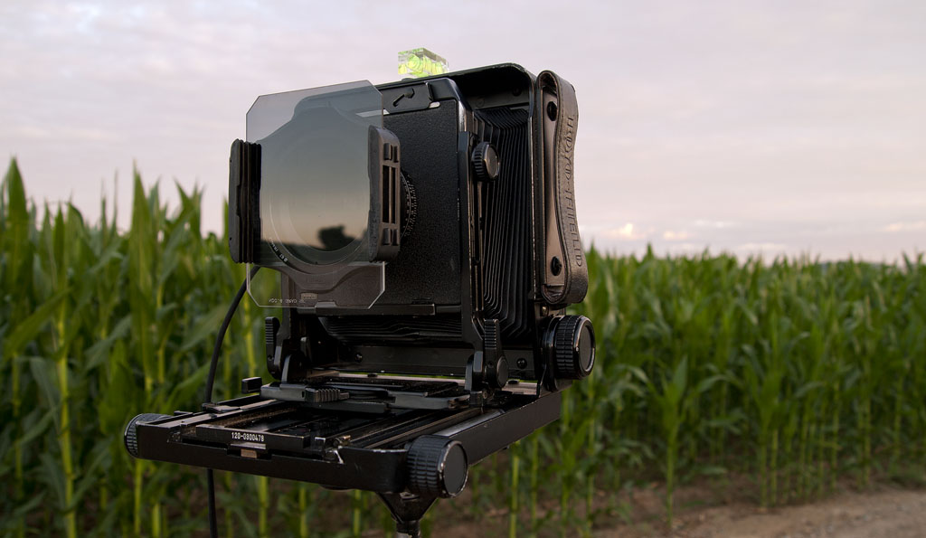 This is a 4x5 Toyo  Corn  Field camera.