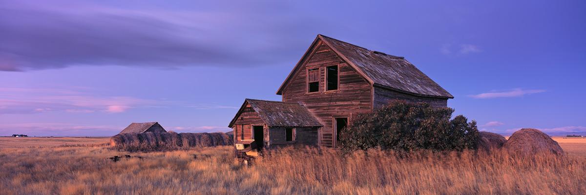Windswept Prairie Home