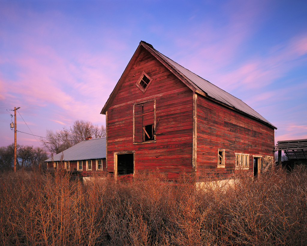 Red Barn Sunrise