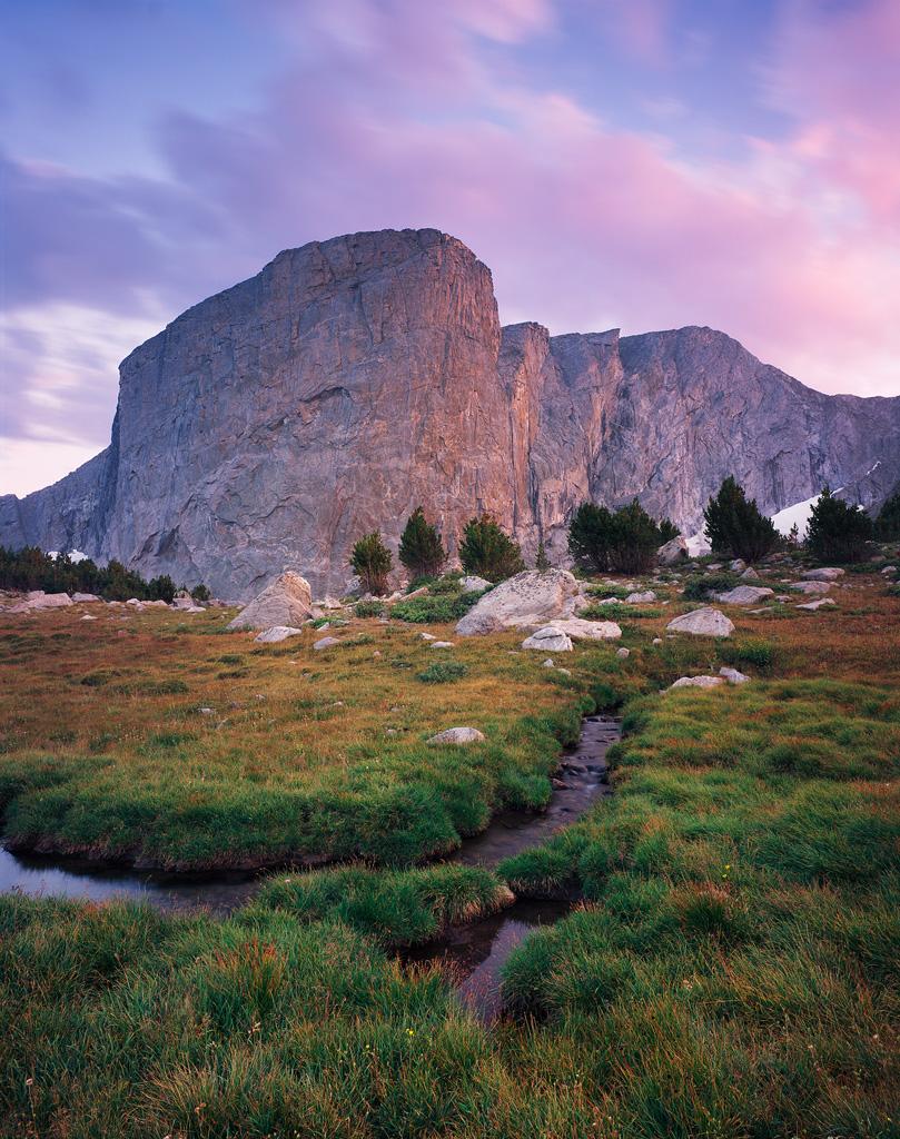 """Hooker Cliffs Sunset"" - Intrepid mk3 4x5, 75mm lens and Provia 100f film."