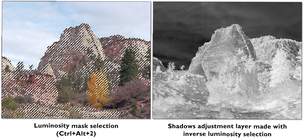 Luminosity Masks - an important tool for editing