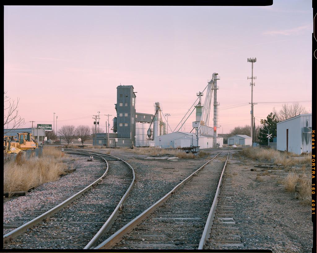 """Sunset Rails"" - Colorado, January 2019"
