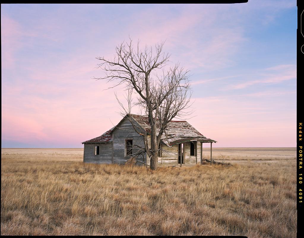 """Homestead Sunset"" - Colorado, February 2019"