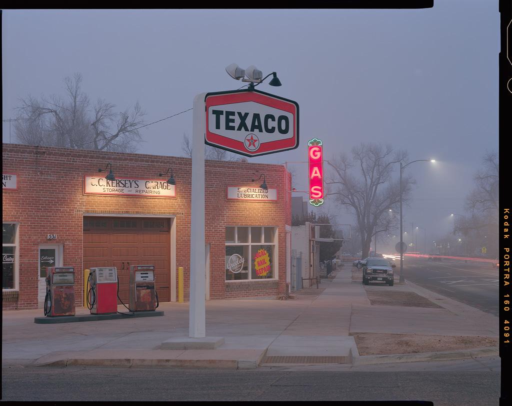 """Texaco Twilight"" - Colorado, February 2019"