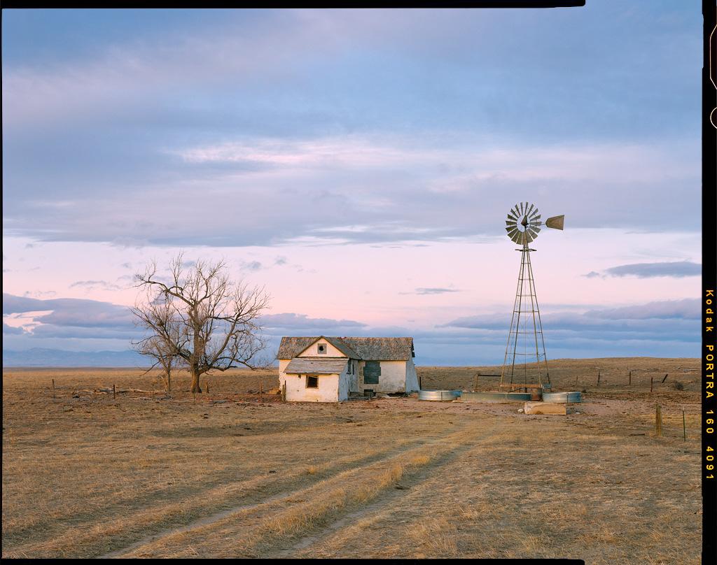 """Windmill Homestead"" - Colorado, January 2019"