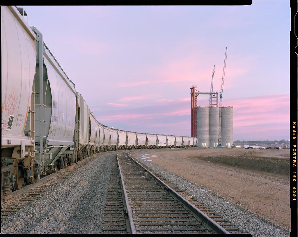 """""""Sunrise Rails"""" - Colorado, February 2019"""