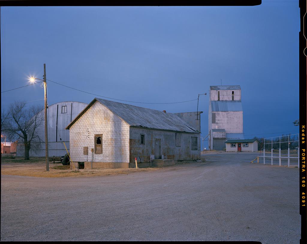 """Grainyard Dawn"" - Kansas, February 2019"