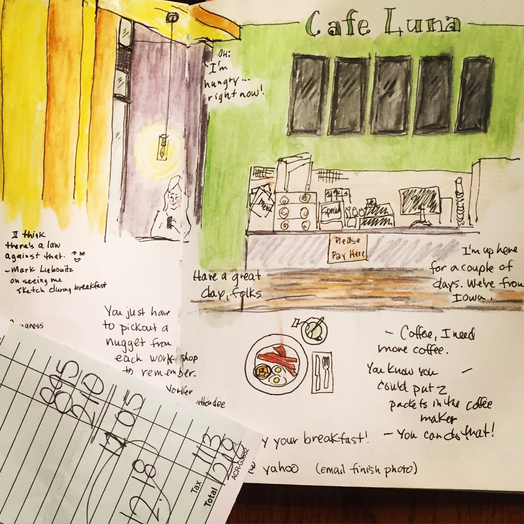 Cafe Luna reportage