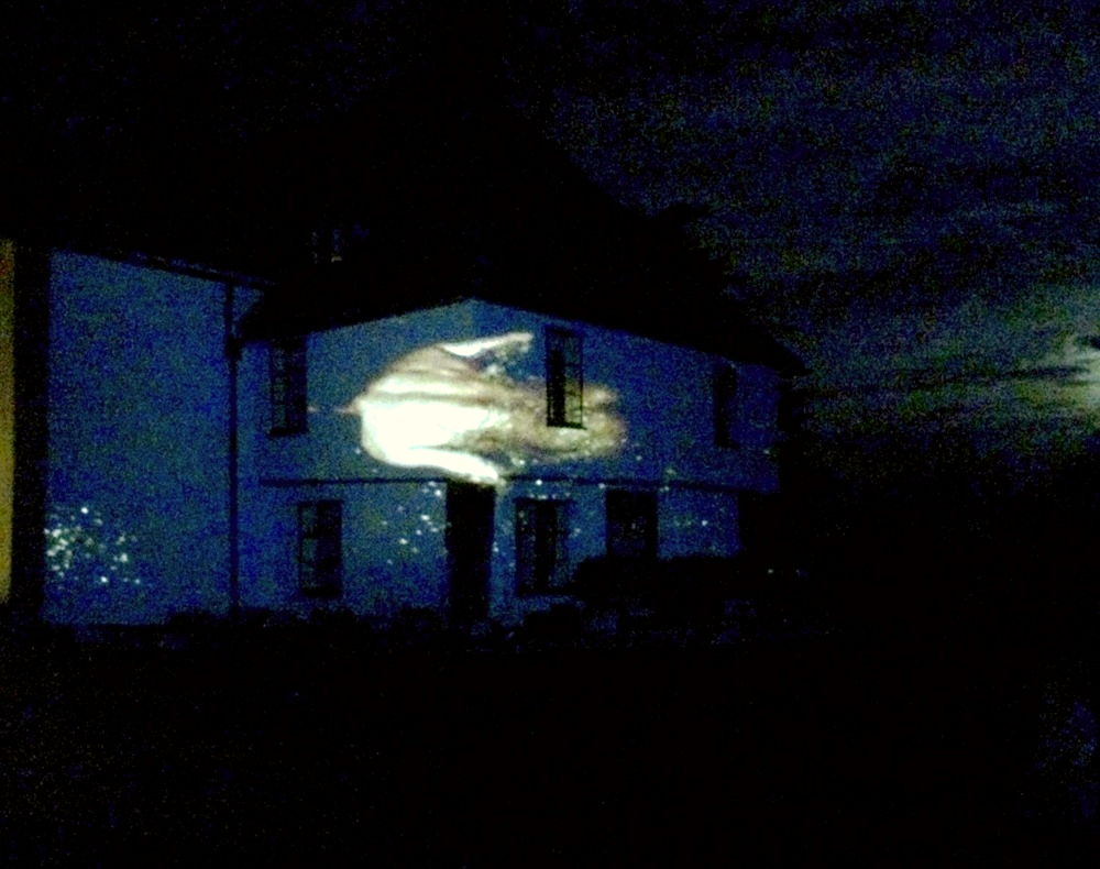 David Baldry,  Getting Nowhere , 2016 video projection.