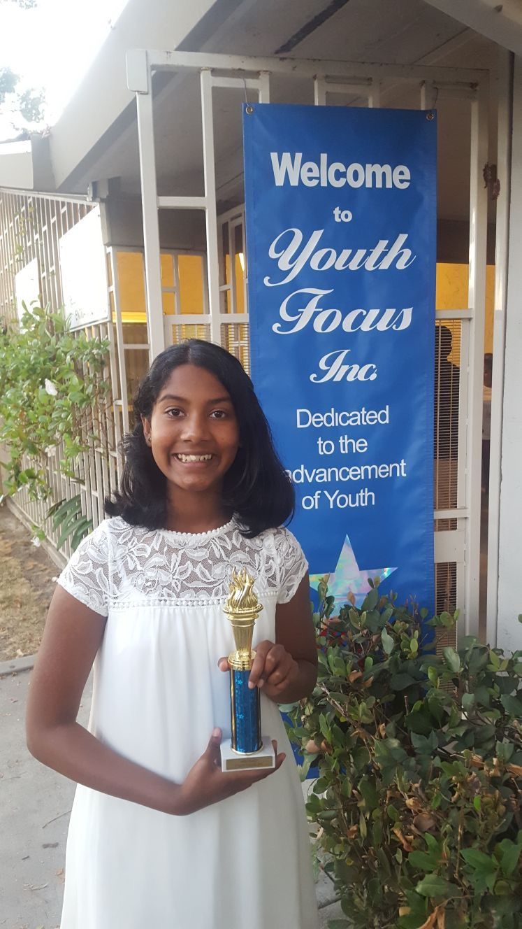 Keya Thota - First Place in Broadway Musical Vocal Performance