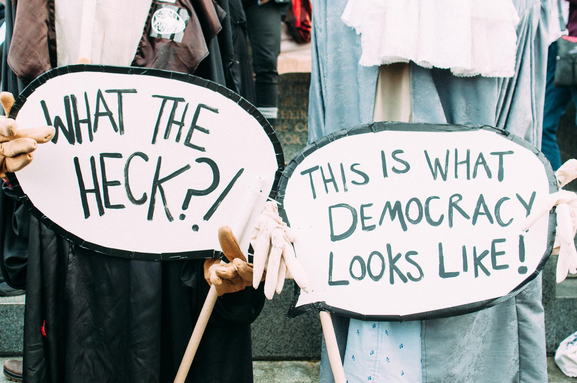 louisville protest trump