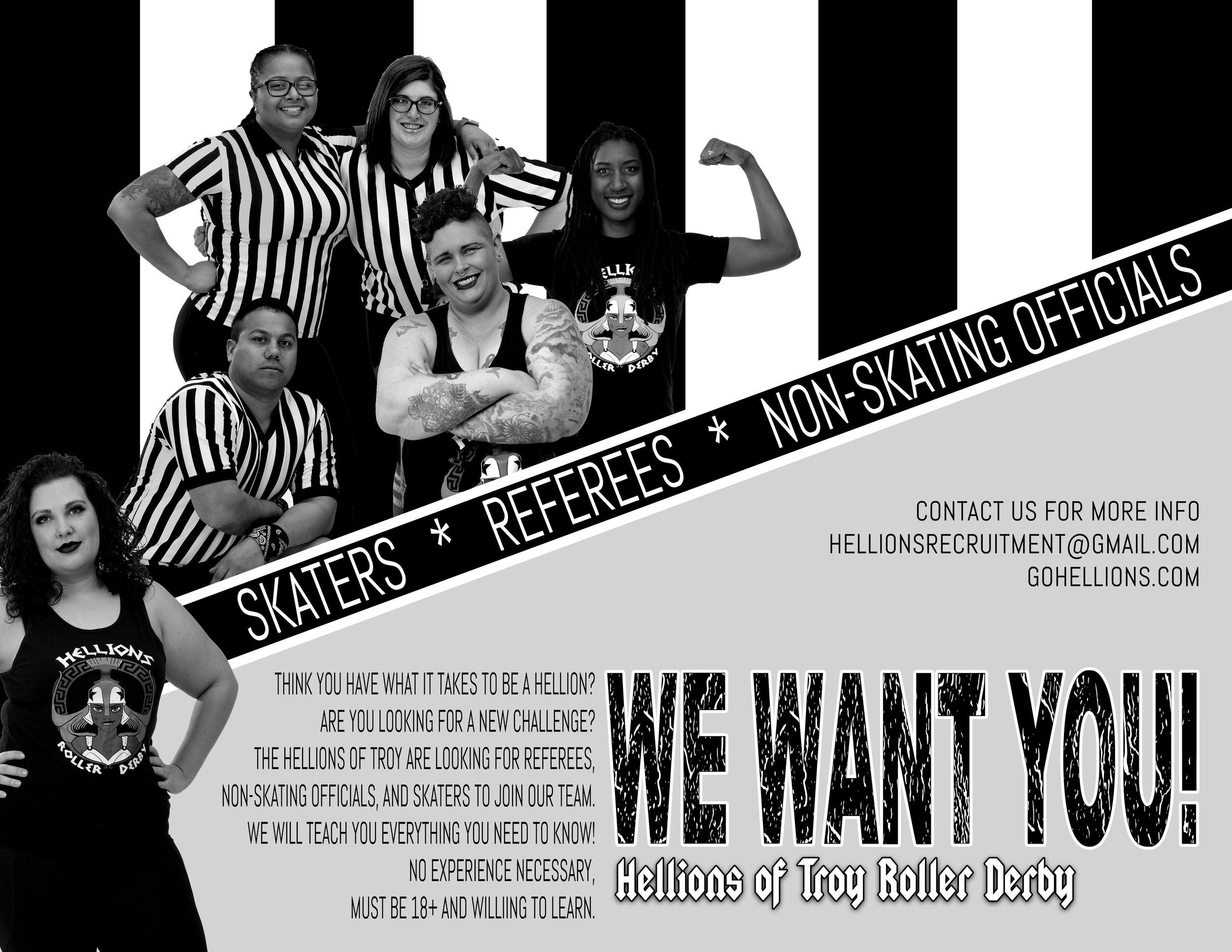 Officials Recruitment b&w.jpg