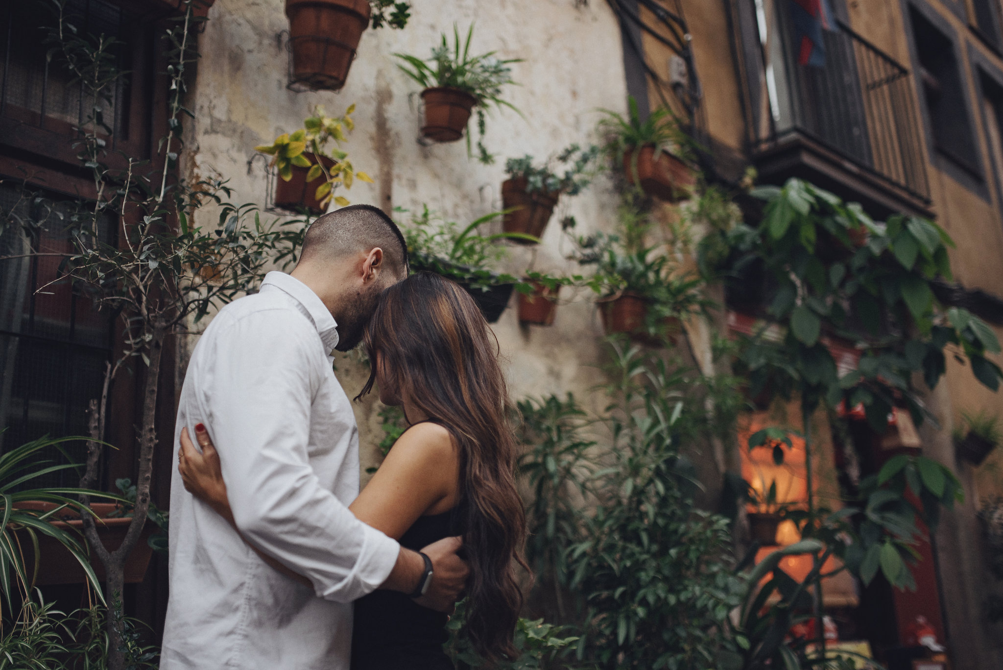 barcelona - creative couples shoot