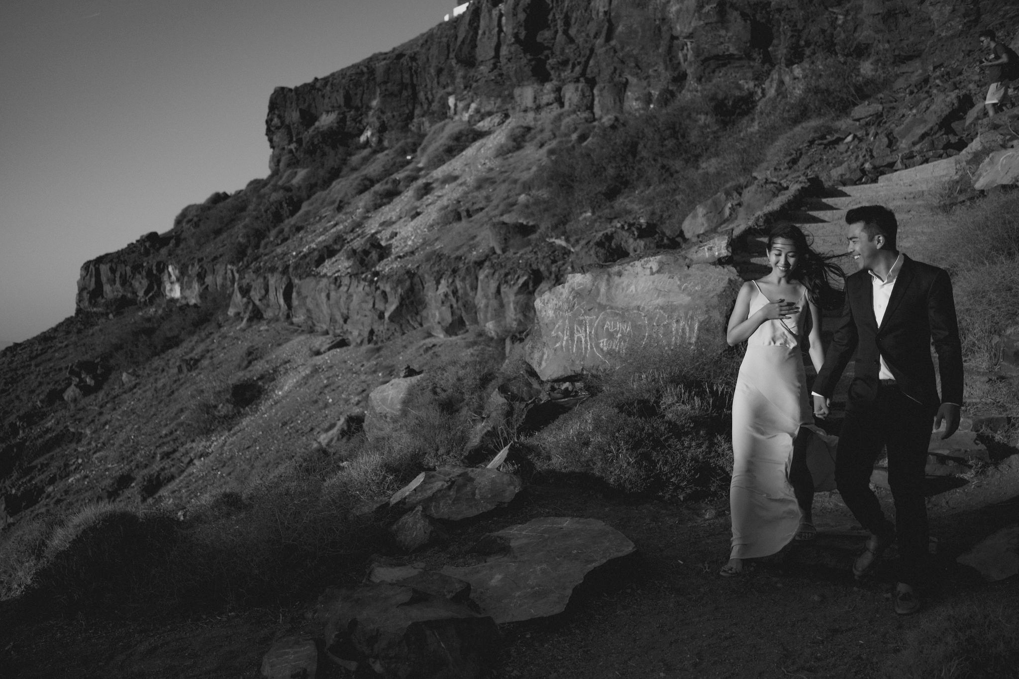 kaiwei + isaac - santorini | couples session