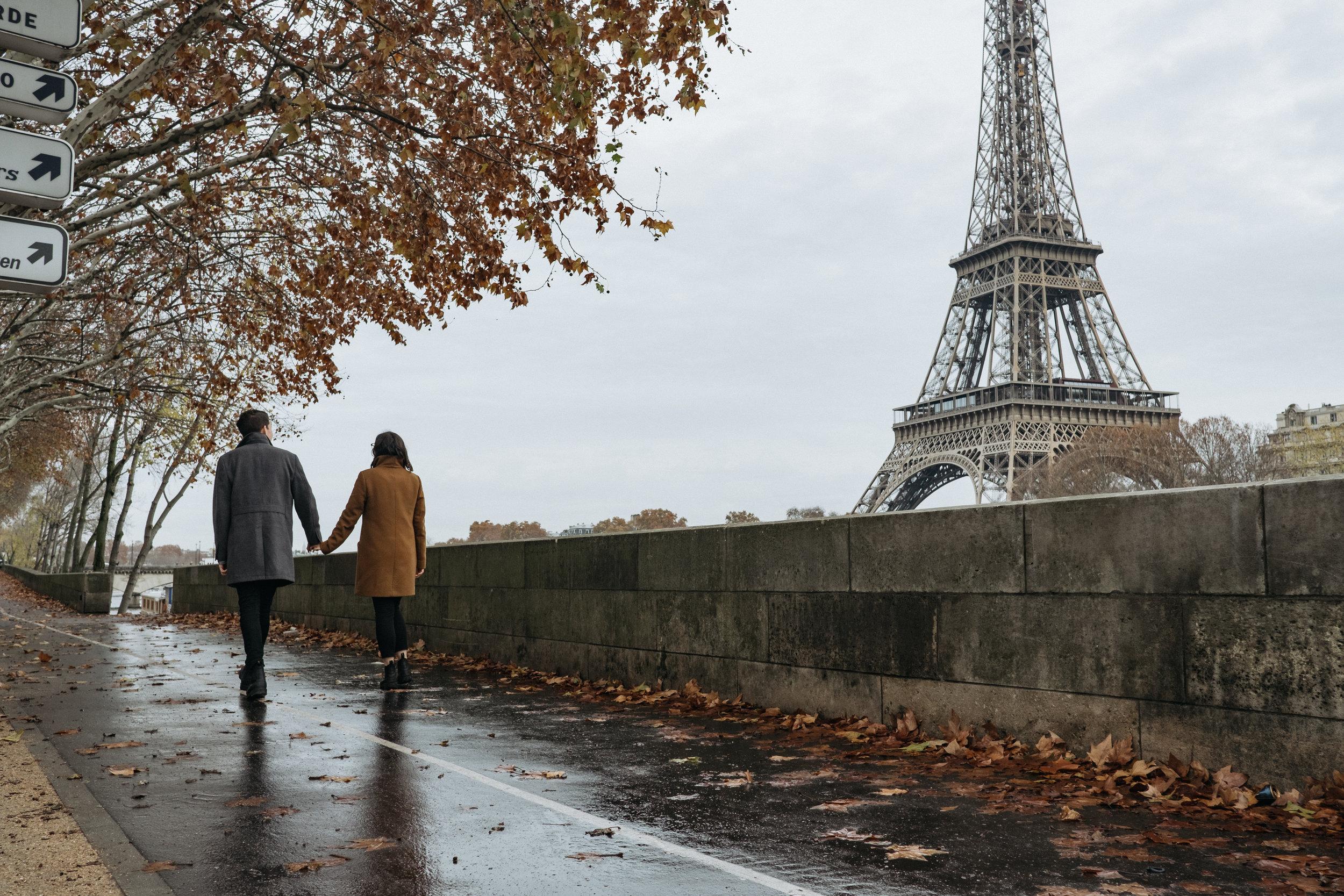 caitlin & Dave - paris | couples session