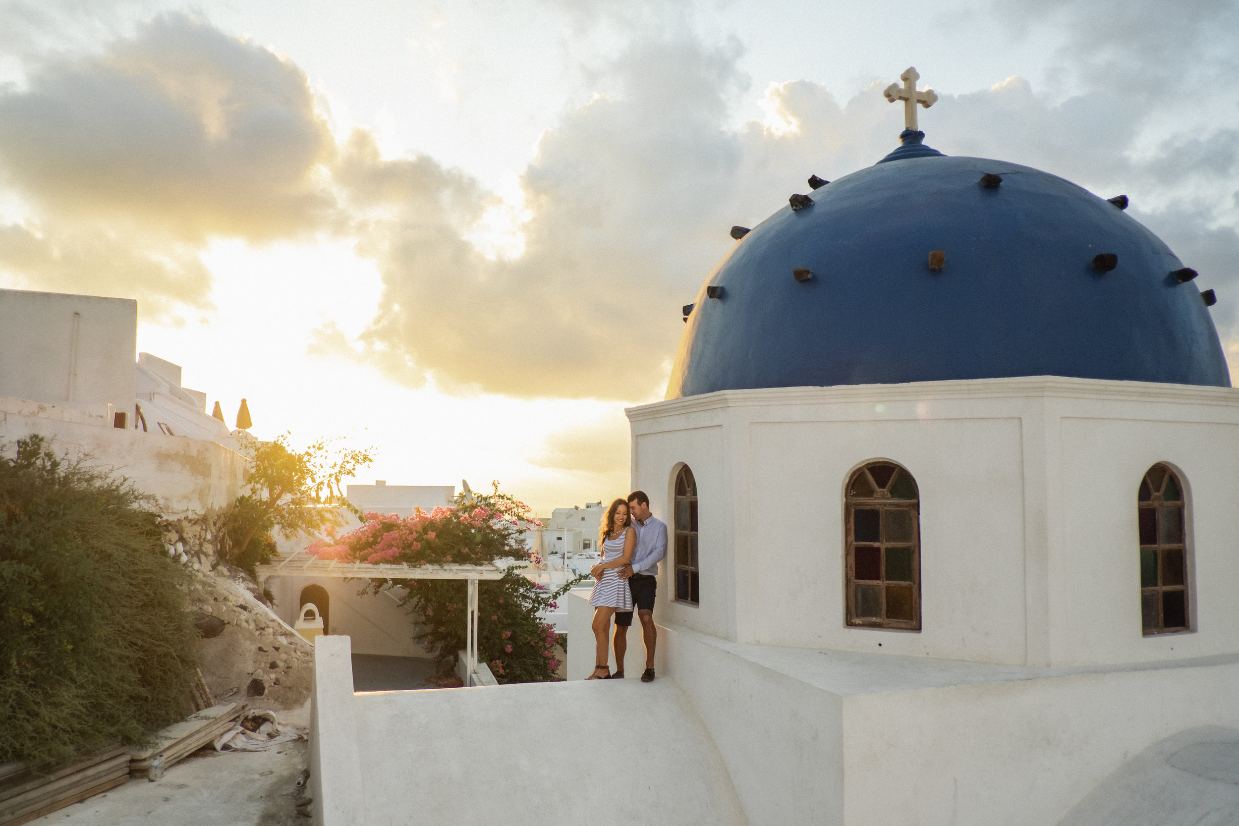 nicole + scott - santorini | honeymoon