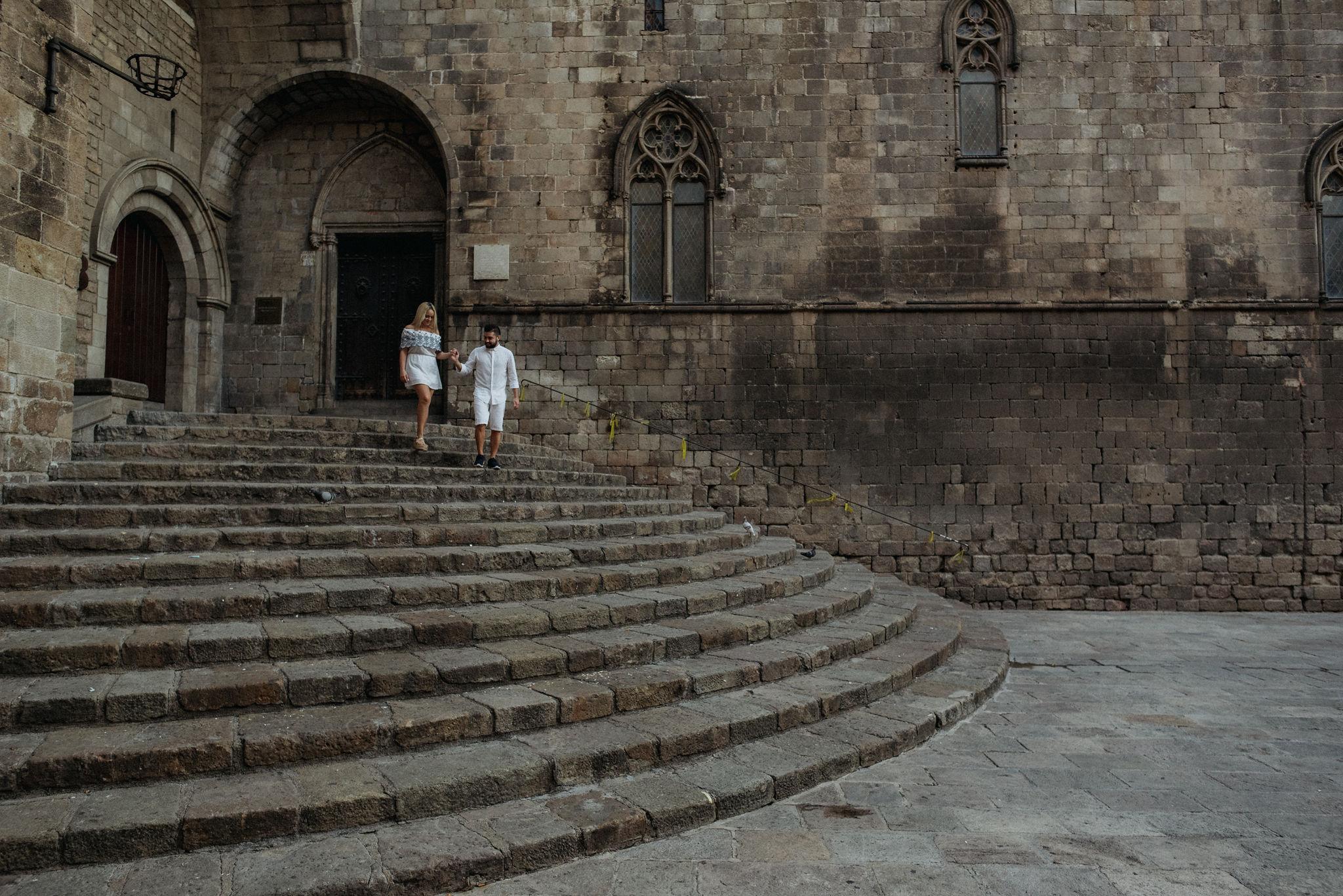 niki + georgios - barcelona | engagement