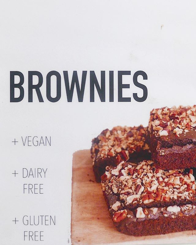 Our brownies are the 💣 refined sugar free, vegan and gluten free