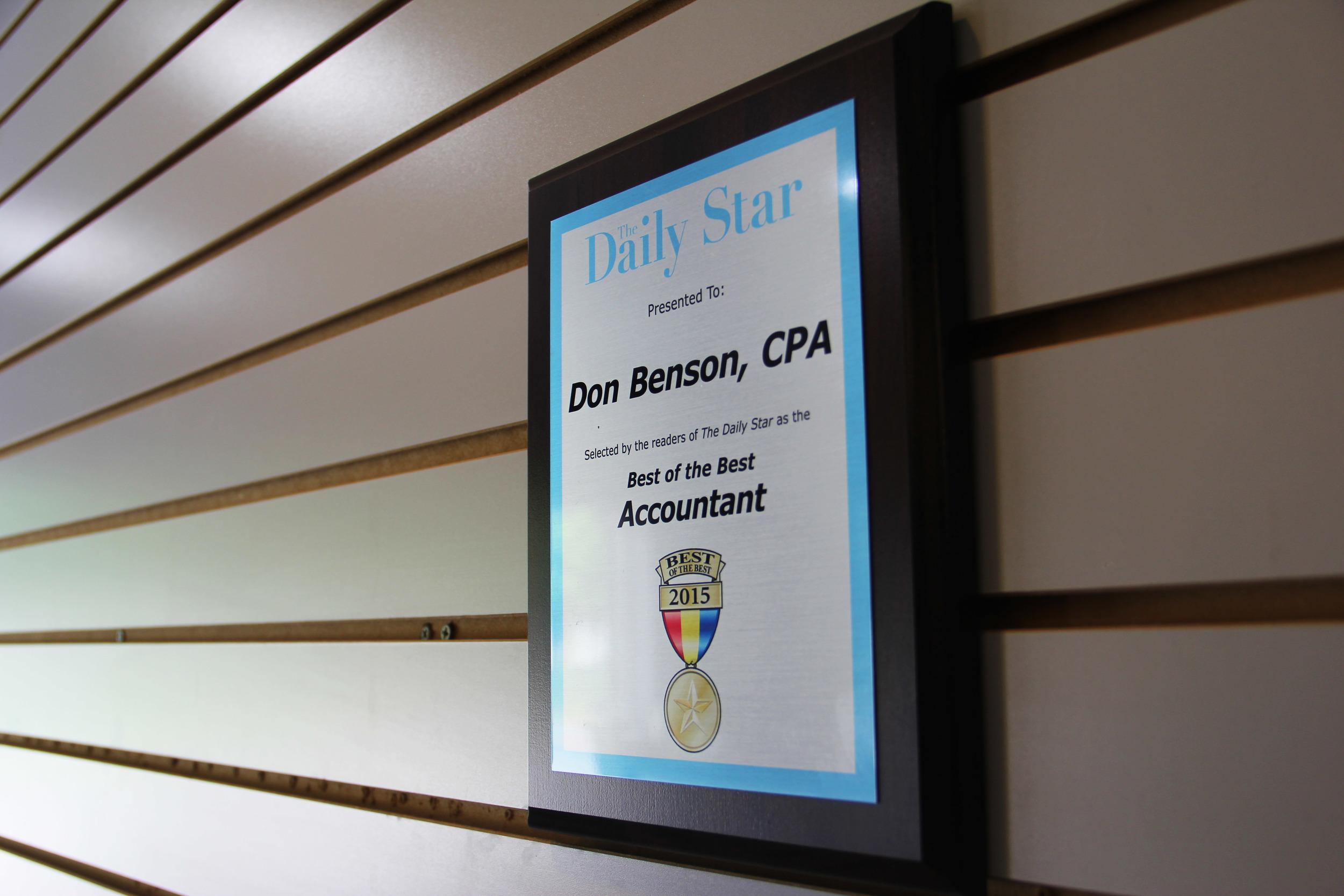 Daily star award.jpg
