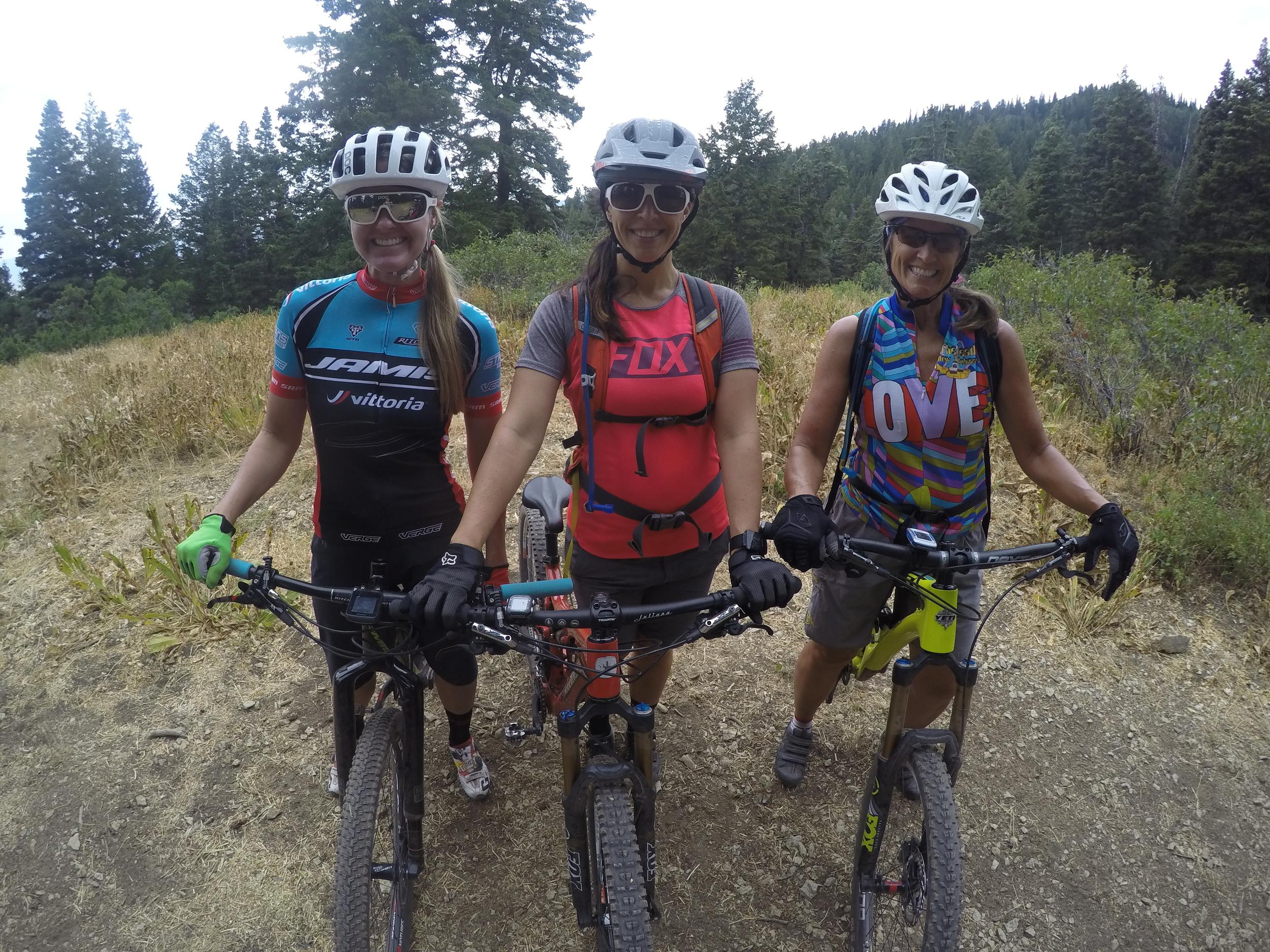 Erica, Nora, Lynne