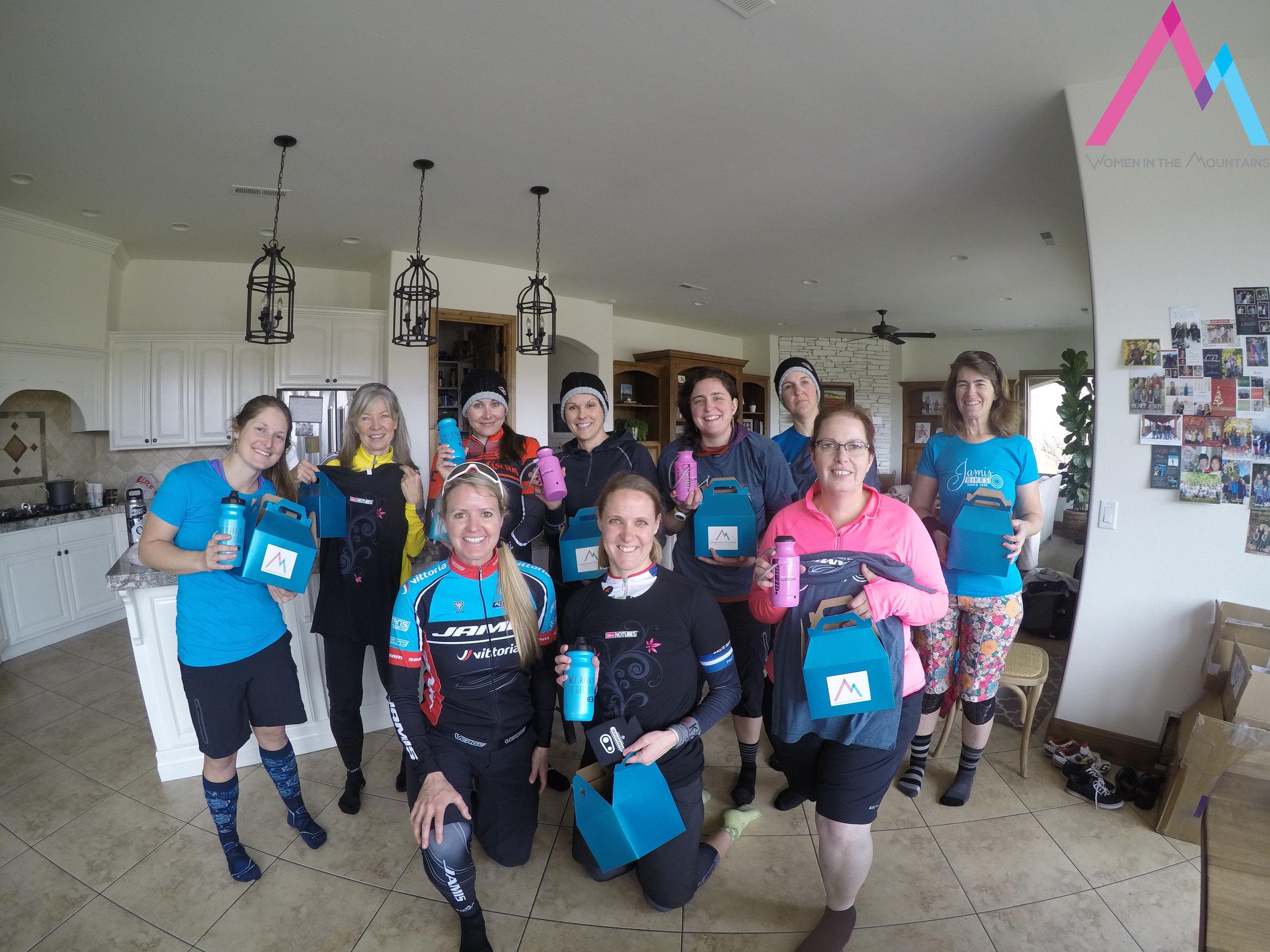 Katie, Kai, Natasha, Karen, Lindsay, Kim, Rebecca  Erica, Jana, Pam  (not picture, Lisa and Lynda)