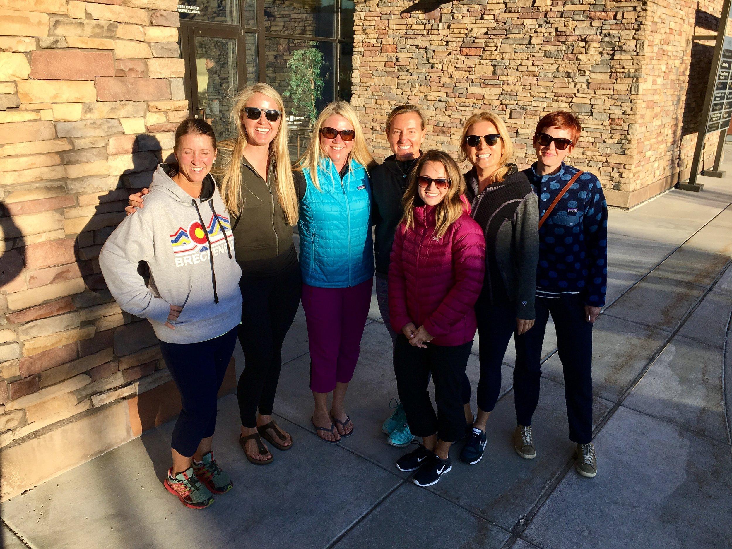 Women in the Mountains, mountain bike skills clinics