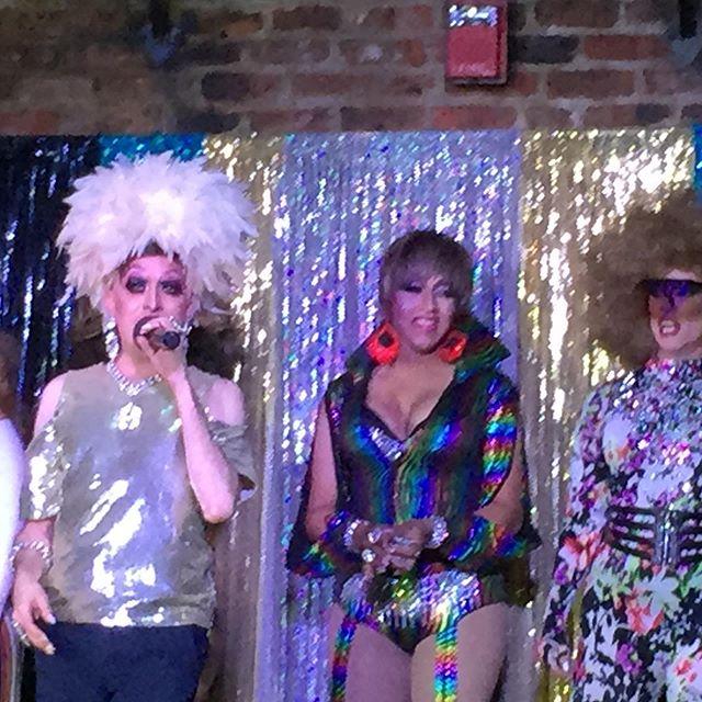 Oz Bourbon street: stellar drag show. #nola