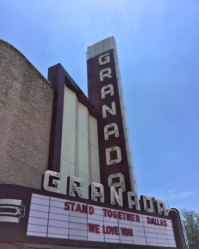 TX forever. Love @granadatheater, it's like a second family to me. Blessed that people at the venue have such a heart for the city.