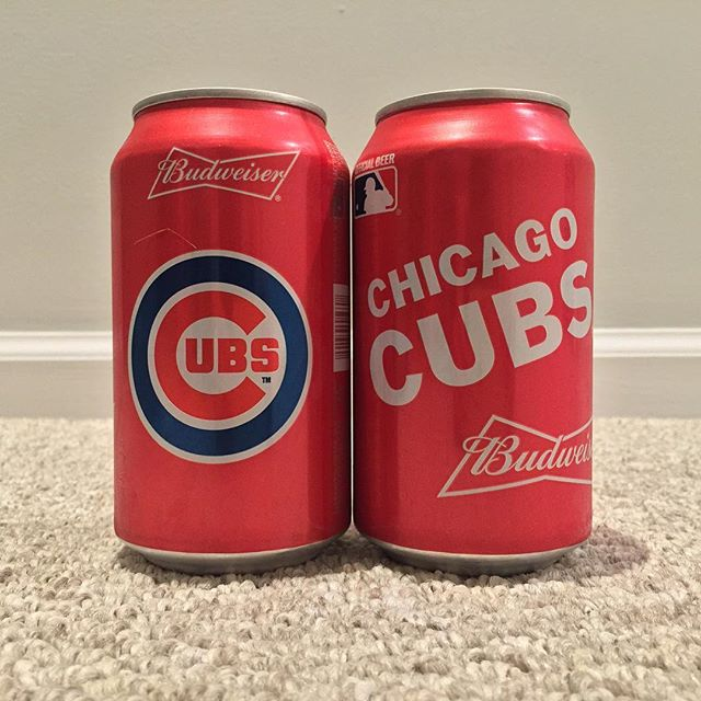 Been saving these until the @Cubs won the World Series. Toasting to a city I'll forever love. #Cubs #Champions #Budweiser